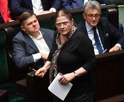 Krystyna Pawłowicz składa wniosek do Komisji Etyki Poselskiej. Chodzi o Wojciecha Kałużę