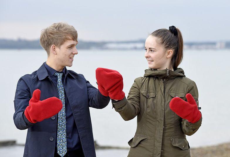Rękawiczki dla par. Niesamowita moda na zimę