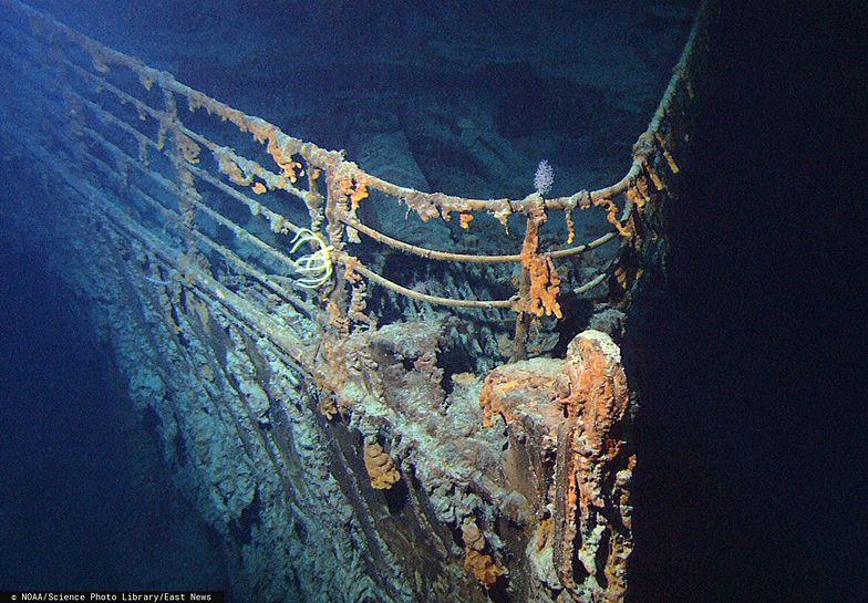 Okręt podwodny uderzył we wrak Titanica. Rząd USA wszystko zataił
