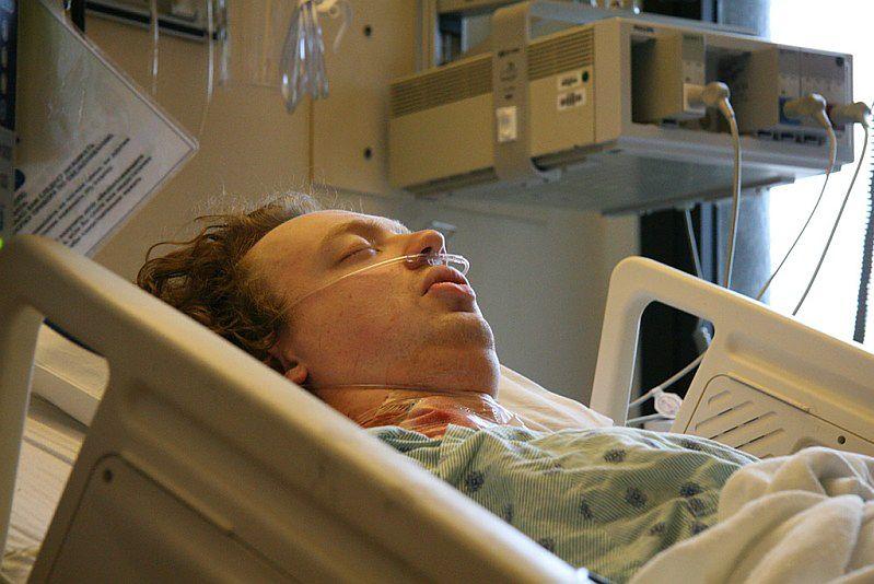 Pacjent po operacji