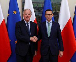 Mateusz Morawiecki rozmawiał o brexicie. Premier wbił szpilę Donaldowi Tuskowi