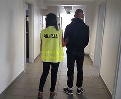 Piotrków Trybunalski. Policjanci przyszli po złodzieja. Znalazł sprytną kryjówkę