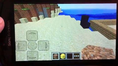 Minecraft atakuje Androidy
