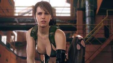 Grywalna Quiet w Metal Gear Solid V