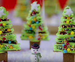 #przepisdnia Świąteczny las