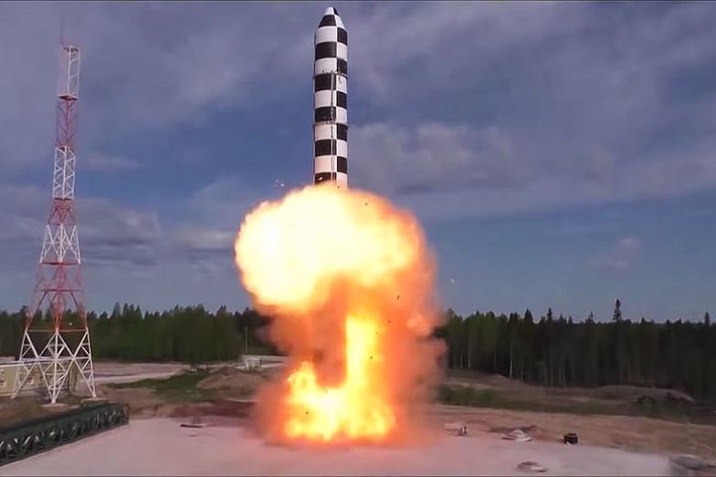 rosja rakieta