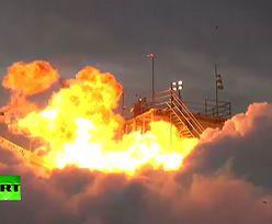 Japończycy chcieli wysłać rakietę w kosmos. Chwilę po starcie uderzyła w ziemię