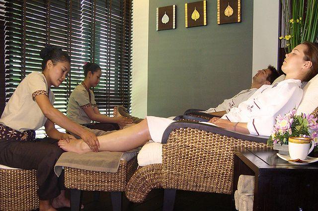 Masaż stóp – refleksoterapia
