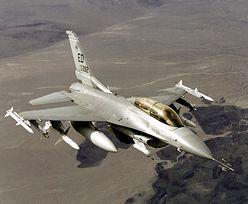 Mechanik przypadkowo zniszczył myśliwiec F-16. Błąd wart 30 mln dolarów