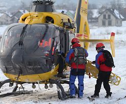 Wypadek na stoku w Szczyrku. Do narciarki wezwano śmigłowiec
