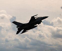 Myśliwiec sił NATO nastraszył rosyjskiego ministra obrony