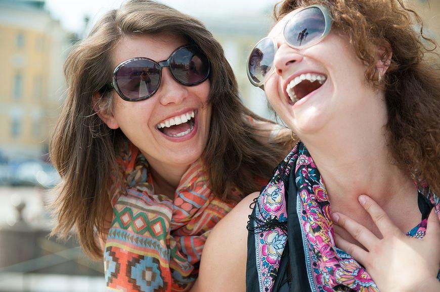 Rozładuj napięcie przez śmiech
