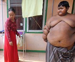 Ma 10 lat i waży 192 kg. Schudnie albo umrze