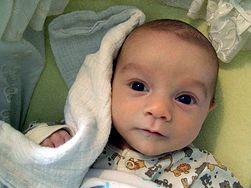 Wodniak jądra u małego dziecka