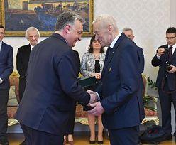 Viktor Orban odznaczył Kornela Morawieckiego. Krzyż Średni Orderu Zasługi Węgier