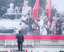 Uroczyste odsłonięcie pomnika Lecha Kaczyńskiego. Przemówienia prezydenta i prezesa PiS