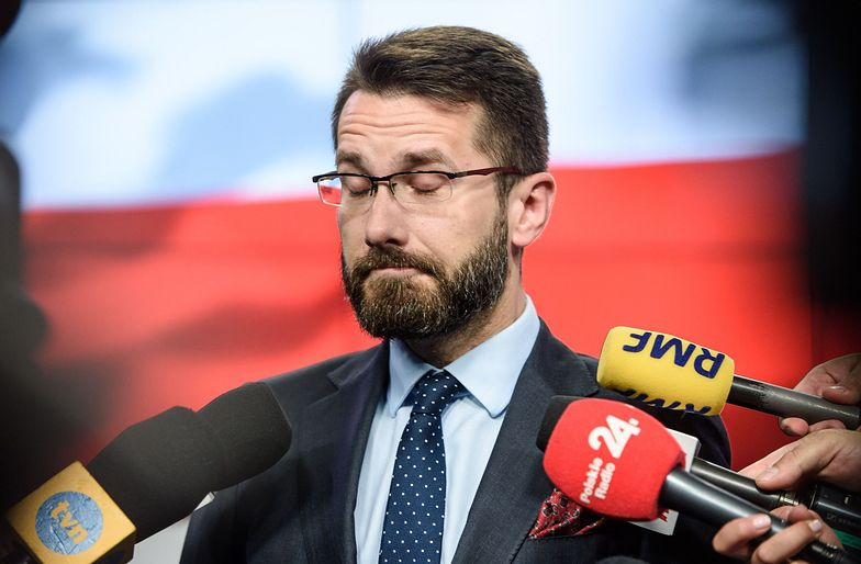 Wybory 2019. Radosław Fogiel - rzecznik PiS wrzucił zabawne zdjęcie