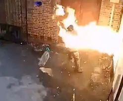 Brytyjczyk podpalił synagogę. Szybko tego pożałował