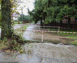 Podtopienia na południu Polski. Alarm powodziowy w dwóch gminach
