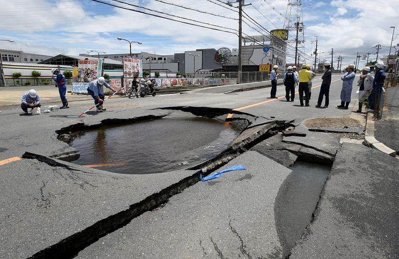 Trzęsienie ziemi w Japonii. Nie żyją 3 osoby, ponad 200 rannych