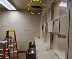 Więzienie z dykty. Mordercy uciekli przez dziurę w suficie