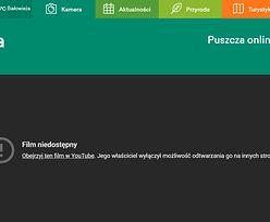 Na portal puszcza.tv wydano ponad 7 mln zł. Główna atrakcja nie działa