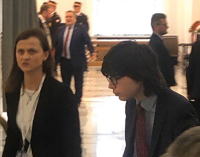 Edmund Janniger na pierwszym posiedzeniu Sejmu. Wraca do łask Antoniego Macierewicza?