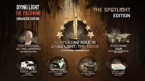 Masz wolne 10 milionów dolarów i zawsze chciałeś zagrać w hollywoodzkiej produkcji? Kup kolekcjonerkę Dying Light