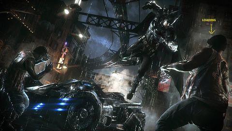 Batman: Arkham Knight bez ekranów doczytywania