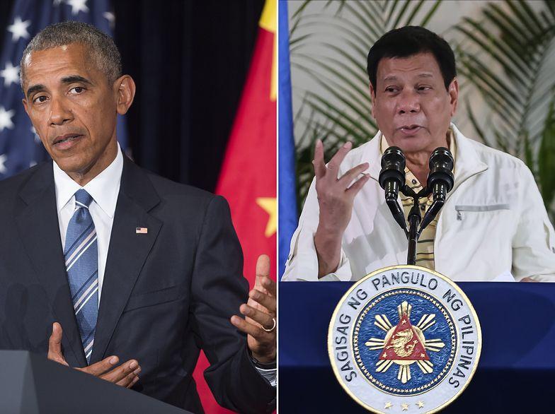 Wojna prezydentów. Obama jednak nie puścił obelg płazem