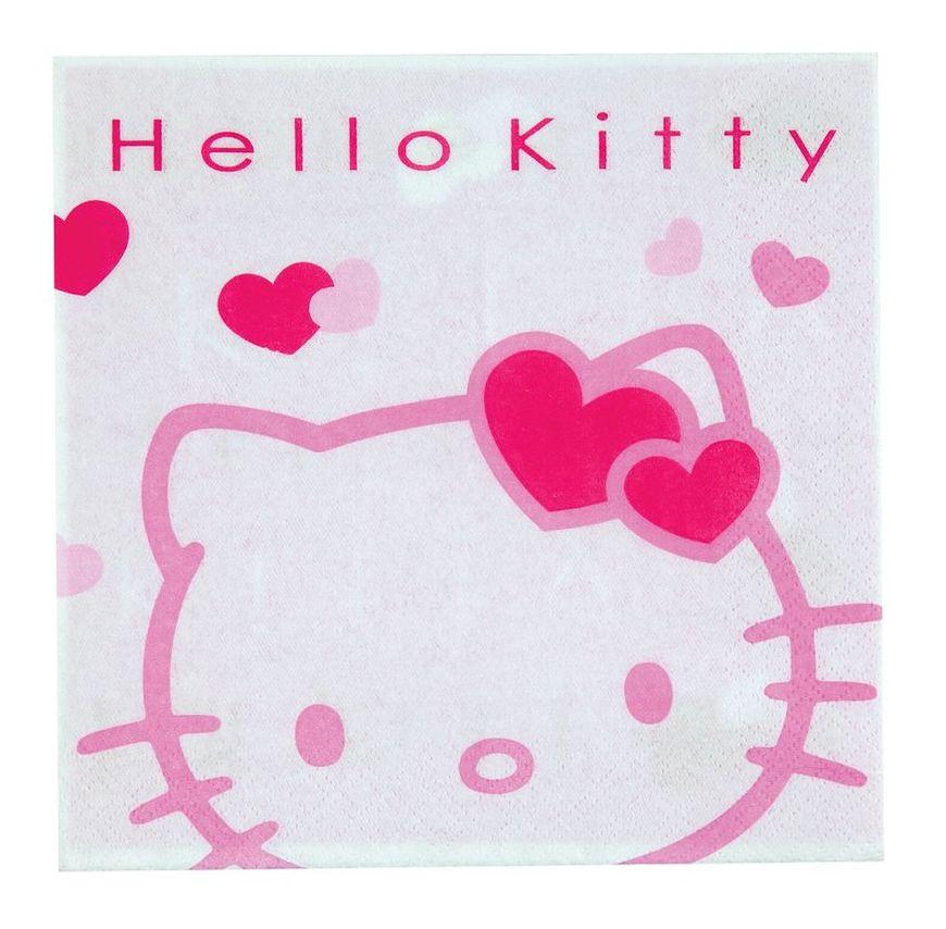 Serwetki z Hello Kitty