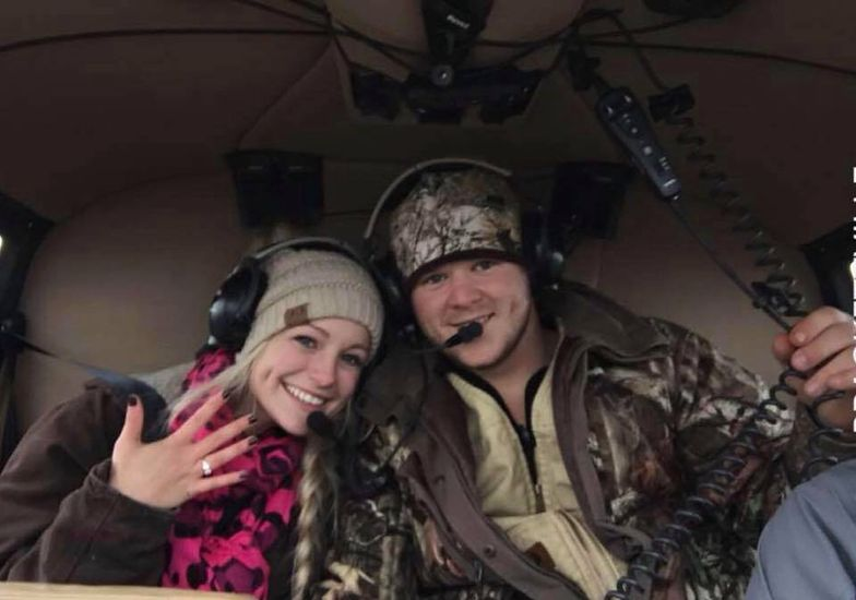 Po ślubie jak z bajki wsiedli do helikoptera. Tragedia w Teksasie