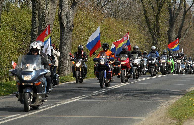 Wilki wśród innych motocyklistów