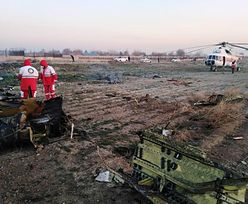 Iran. Ukraiński samolot rozbił się zaraz po starcie. Zginęło 176 osób