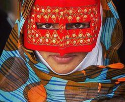 Tutaj kobiety noszą niezwykłe maski