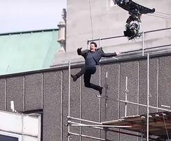 """Tom Cruise miał wypadek na planie """"Mission Impossible 6"""". To musiało boleć!"""
