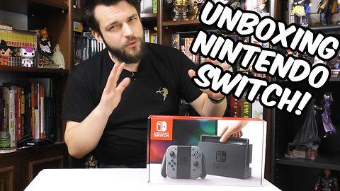 OTO JEST DZIEŃ! Unboxing Nintendo Switch