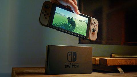 Switch wciąż sprzedaje się dosko