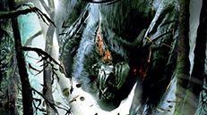 Okładka Monster Huntera w samo południe