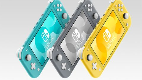 Nintendo Switch Lite oficjalnie