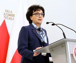 Koronawirus w Polsce. Elżbieta Witek wygłosiła specjalne orędzie