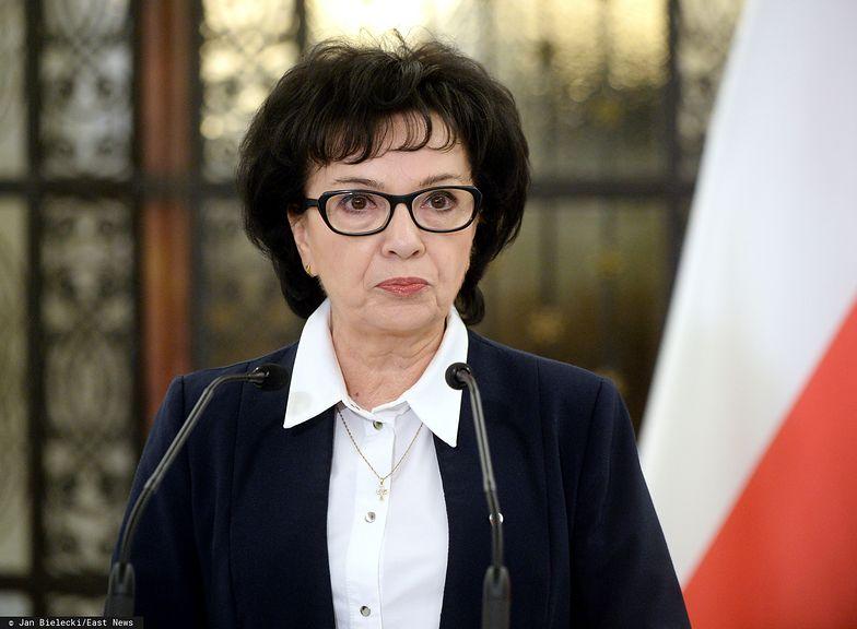Elżbieta Witek tłumaczyła swoją decyzję