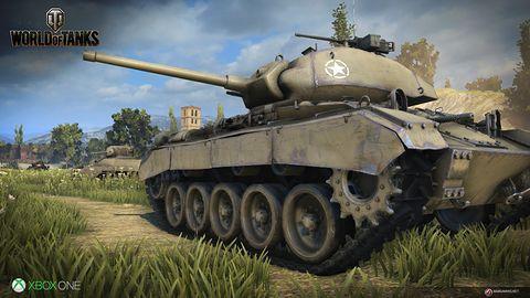 W najbliższy weekend czołgi z World of Tanks odwiedzą Xboksa One