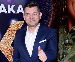 """Zenon Martyniuk z żoną i mamą na premierze filmu """"Zenek"""""""