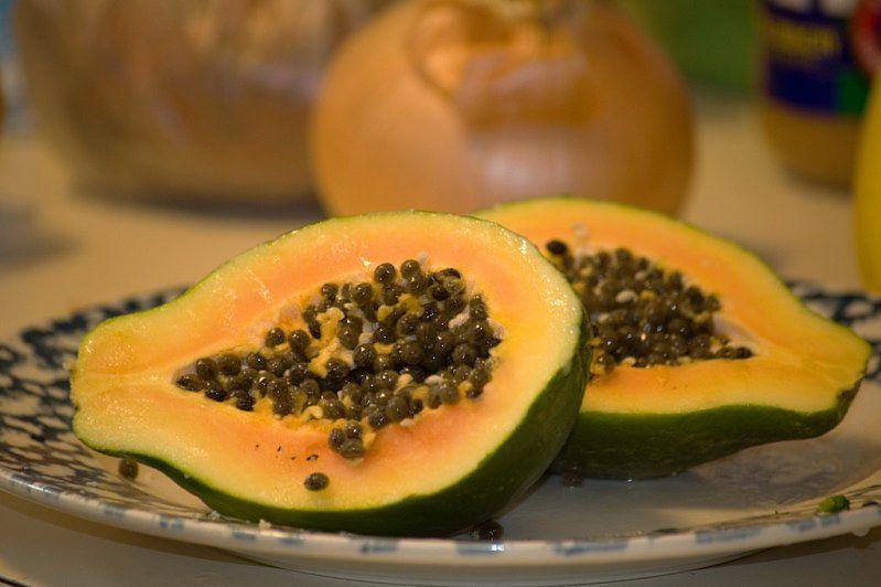 Żywność ekologiczna - papaja