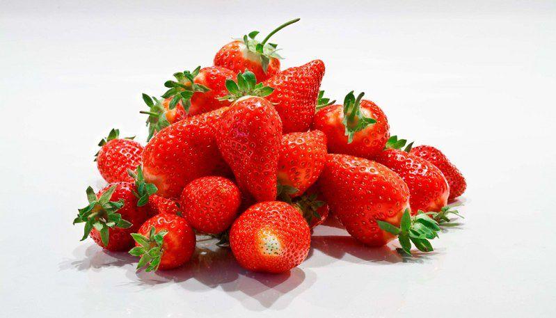 Żywność ekologiczna - truskawki