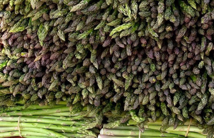 Żywność ekologiczna - szparagi