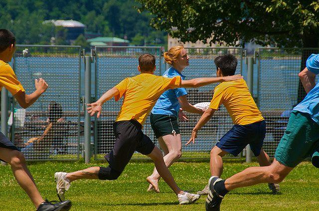 Przyjemne ćwiczenia - sporty drużynowe