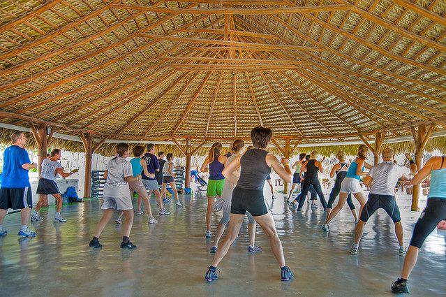 Przyjemne ćwiczenia - trening grupowy