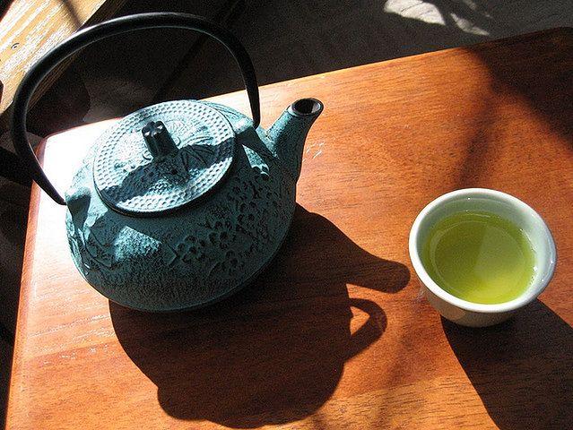 Zdrowe napoje - zielona herbata